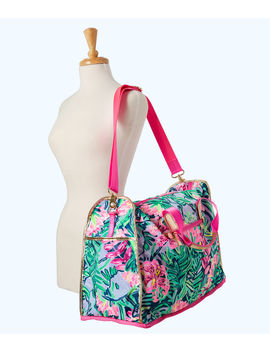 Palm Packable Weekender Tote Bag by Lilly Pulitzer