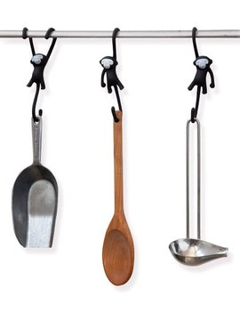 Black Just Hanging Kitchenware Hook by Zulily