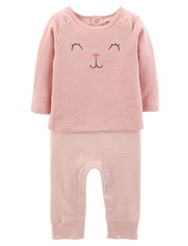 Kitty Coveralls by Carter's