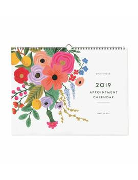 2019 Garden Party Appointment by Rifle Paper Co.