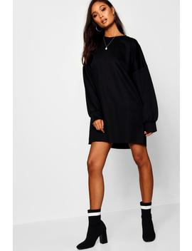 The Perfect Oversized Sweat Dress by Boohoo