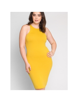 Plus Size Girly Tank Dress by Wet Seal