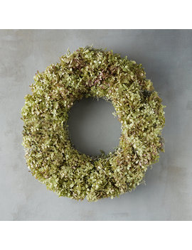 Limelight Green Hydrangea Wreath by Terrain