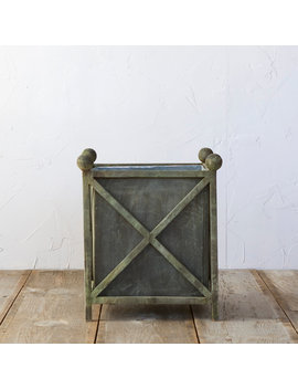 Iron Cross Frame Planter by Terrain