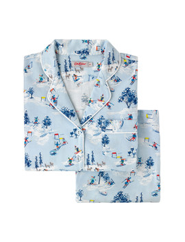 Snow Scene Brushed Flannel Pj Set by Cath Kidston