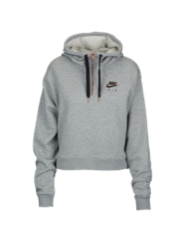 Nike Rose Gold Metallic Air Half Zip Hoodie by Lady Foot Locker