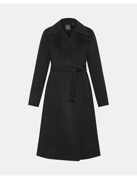 Cashmere Wrap Trench by Theory