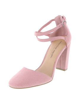 Women's Kam Cross Strap Pump by Learn About The Brand Christian Siriano For Payless