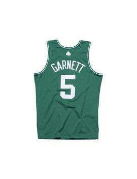 Boston Celtics Kevin Garnett Mitchell & Ness Nba Men's Hardwood Classic Swingman Jersey by Lids