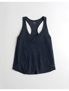 Ribbed Racerback Tank by Hollister