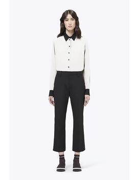 Contrast Silk Shirt by Marc Jacobs