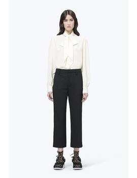 Silk Pussy Bow Blouse by Marc Jacobs