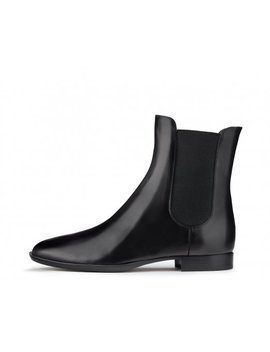 Leather Ankle Boot by Attilio Giusti Leombruni