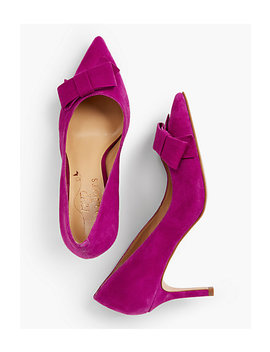 Erica Bow Pumps by Talbots