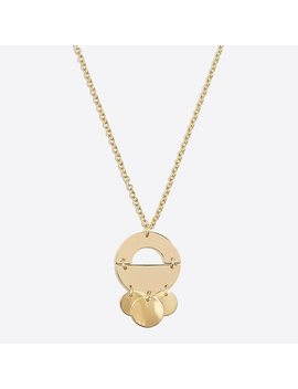 Golden Mobile Pendant Necklace by J.Crew