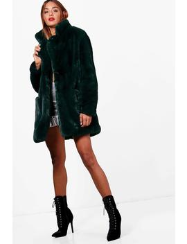 Boutique Faux Fur Coat by Boohoo