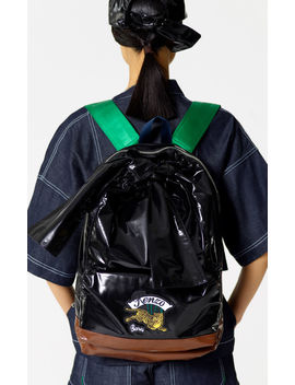 'bamboo Tiger' Backpack by Kenzo