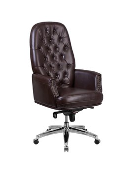 Flash Furniture High Back Leather Multifunction Executive Chair by Flash Furniture
