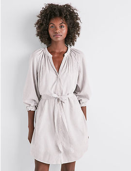 Stripe Peasant Dress by Lucky Brand