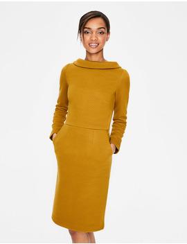 Estella Jacquard Dress by Boden