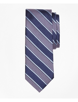 Houndstooth Stripe Tie by Brooks Brothers