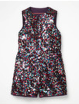Sequin Playsuit by Boden