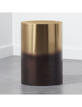 Winston Round Ombre Side Table by Crate&Barrel