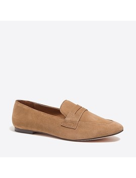 Suede Penny Loafers by J.Crew