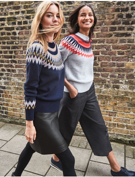 Agnes Fair Isle Sweater by Boden