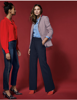 Hampshire Ponte Pants by Boden