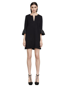 Catier Faux Leather Trim Dress by Bcbgmaxazria