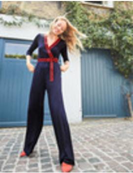Isla Jersey Jumpsuit by Boden