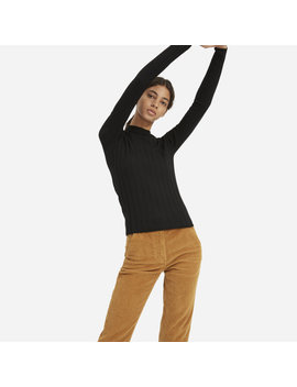 The Luxe Wool Rib Mockneck by Everlane