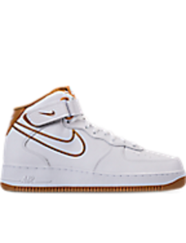 Men's Nike Air Force '07 Mid Leather Casual Shoes by Nike