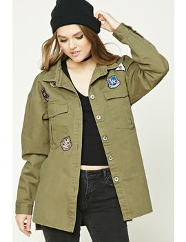 army-patch-jacket by forever-21