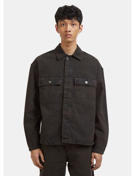 Workwear Shirt In Grey by Yeezy