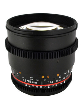 85mm T1.5 Cine Lens For Canon Ef by Rokinon