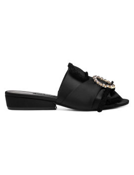 Lafay Open Toe Mules by Nine West