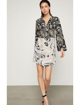 Taylor Paisley Print Tunic Dress by Bcbgmaxazria