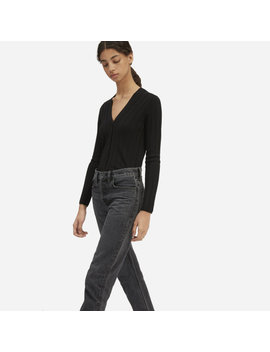 The Luxe Wool Rib Cardigan by Everlane
