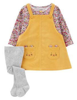3 Piece Corduroy Jumper Set by Carter's