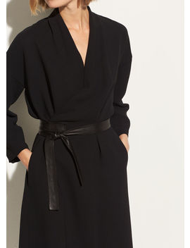 Belted Wrap Dress by Vince
