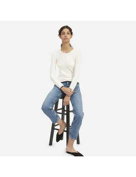 The Luxe Wool Rib Crew by Everlane
