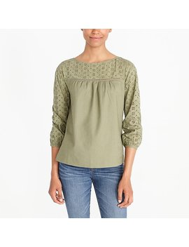 Eyelet Top by J.Crew