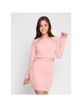 Zephyr Lacing Dress by Wet Seal