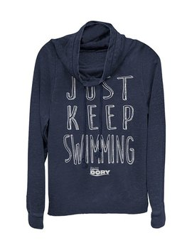 Finding Dory 'just Keep Swimming' Hoodie   Women by Fifth Sun