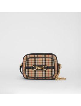The 1983 Check Link Camera Bag by Burberry