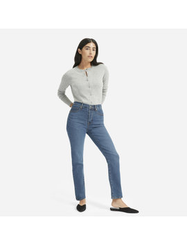 The Authentic Stretch High Rise Cigarette Jean by Everlane