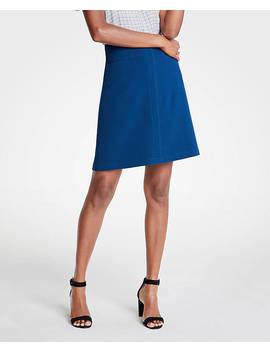 Pocket A Line Skirt by Ann Taylor