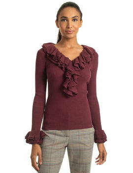Quill 2 Sweater by Trina Turk
